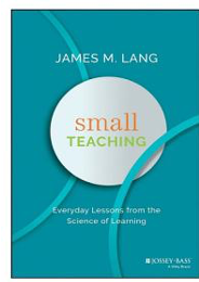 Cover of Small Teaching by James Lang